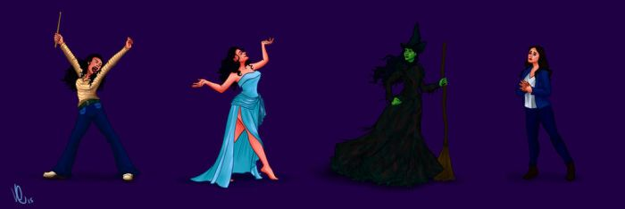 Idina Menzel On Broadway by Swirk