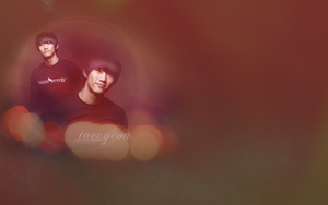2PM Wallpaper - Taecyeon by singthistune