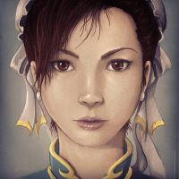 Chun Li - Street Fighter by khuon