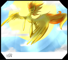 My purpose is flying -Spitfire by TheCommanderCube