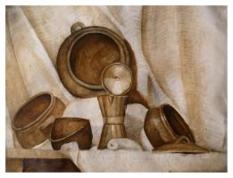 Still Life 7 Old Works by SILENTJUSTICE