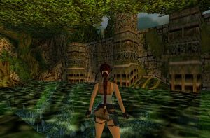Tomb Raider III Jungle Screen Shot by SSX12345