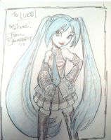 Miku Hatsune sketch by tombancroft