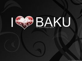 I love Baku by Numizmat