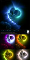 Fractal Stock Pack 8 Primeval (transparent PNG) by Hexe78