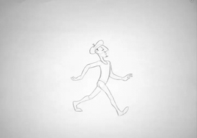 Walk Cycle Animation by kilala97