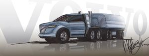 volvo truck for CDC contest by biped