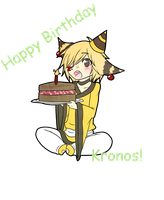 Happy Birthday Kronos by loverofscythe