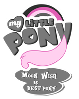 MLP Commission - Moon Wish is Bestpony by MLPBlueRay