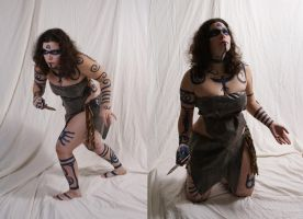 Woad Warrior  17 by lindowyn-stock