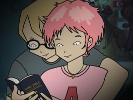 Jeremie x Aelita - Journey Through the Word by rev-rizeup