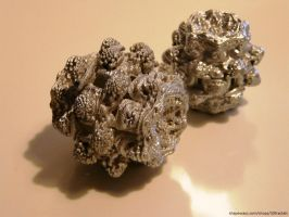 3D printed Mandelbulbs by bib993