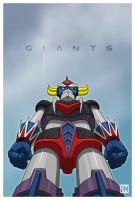 Giants - Grendizer by DanielMead