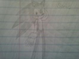 sonic sketch by sonicthehedgehog1345