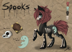 Spooks Old Ref by IndecisiveCrabCake