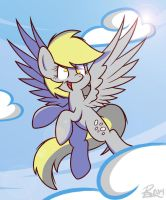 Derp in the Skies by dashieHD
