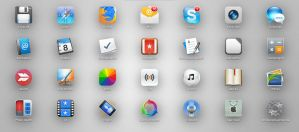 OS X dock icons by TigerCat-hu