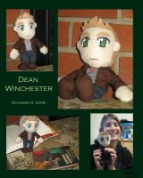 Dean Winchester Plushie by LauraDoodles