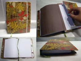 Green leaves notebook by yuukaze