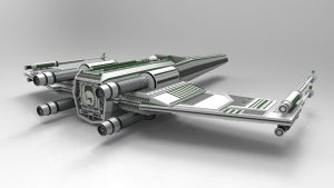 star wars x-wing fighter concept by Republic2033