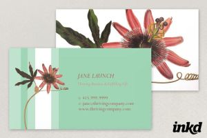 Passion Flower Template by inkddesign