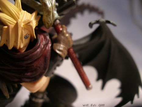 Cloud Strife a One Wing Angel? by SurfTiki