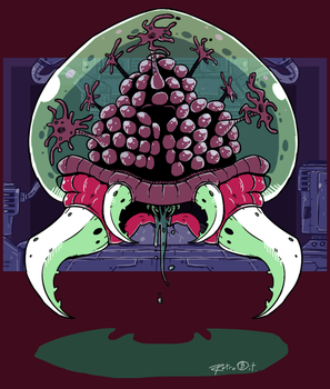 Metroid by SuperRetro8it