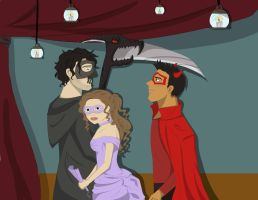 Halloween Ball - No Text by Dryft-Art