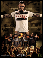 The Cult Of Personality Custom Poster by Mohamed-Fahmy