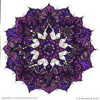Restful Slumber Mandala by Quaddles-Roost