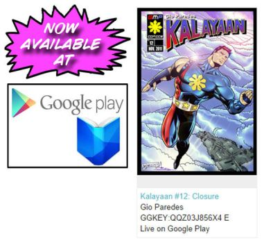 Kalayaan #12 is now available at Google Play Book by gioparedes