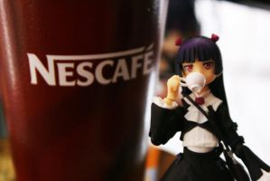 cup coffe neko by Lain444