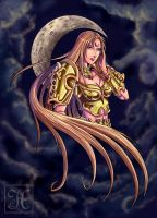 Saint Seiya ND - Artemis by Hedrick-CS