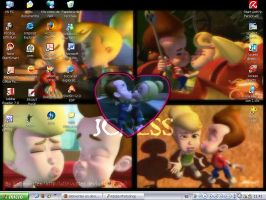 My Desktop JCkiss by latinvortex
