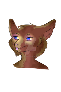 blue eyes by PaintedLiger