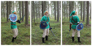 Link cosplay by Possumato