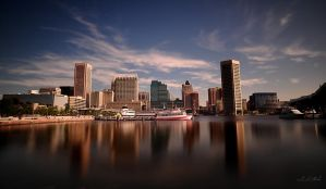 baltimore inner harbor by intels