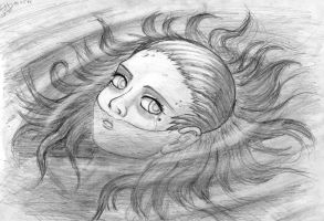 Drowned girl by SolidJB