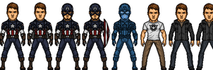 Captain America (Steve Rogers) by josediogo3333
