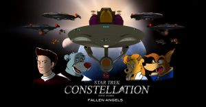 STAR TREK CONSTELLATION FALLEN ANGELS by PUFFINSTUDIOS