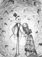 100 Faves! Phantom Jack and Sally by DupleSnowflake
