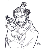 DSC 2015-07-29 Lone Wolf and Cub by theEyZmaster