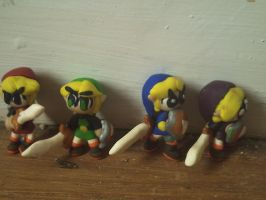 Four Sword Fimo by AlinkKiyoiYuusha