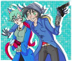 Request - Jesse/Dorothy by Himram