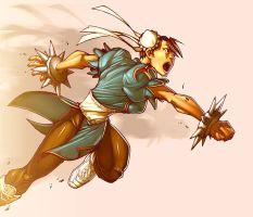 Chun Li Action by -seed-