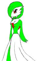 Gardevoir Colored by ravenfanboy64