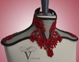 Neck corset by v-couture-boutique