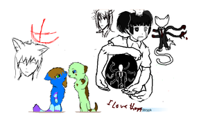 Iscribble madness by breebree223