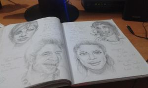 My Sketch book by paintstrokes