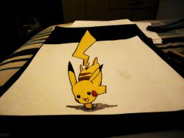 Attempted 3D Pikachu by naldojunio